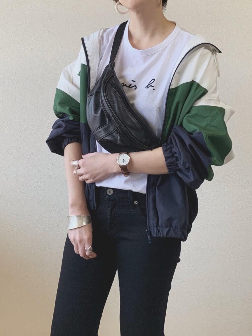 BBQ コーデ 春 アウトドア ファッション 羽織 マウンテンパーカー