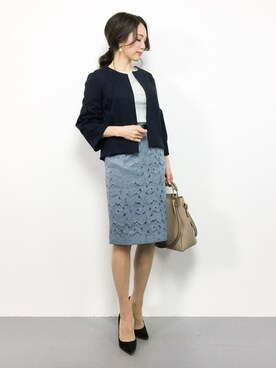 学会に相応しい服装のコーディネート術14選・相応しい服装