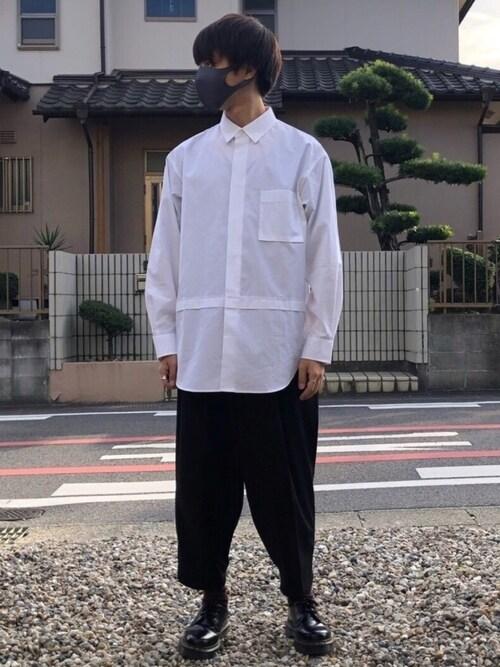 ユニクロ オーバー サイズ シャツ