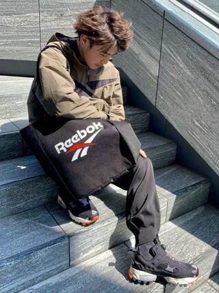 Reebok ONLINE SHOPのスタッフコーディネート一