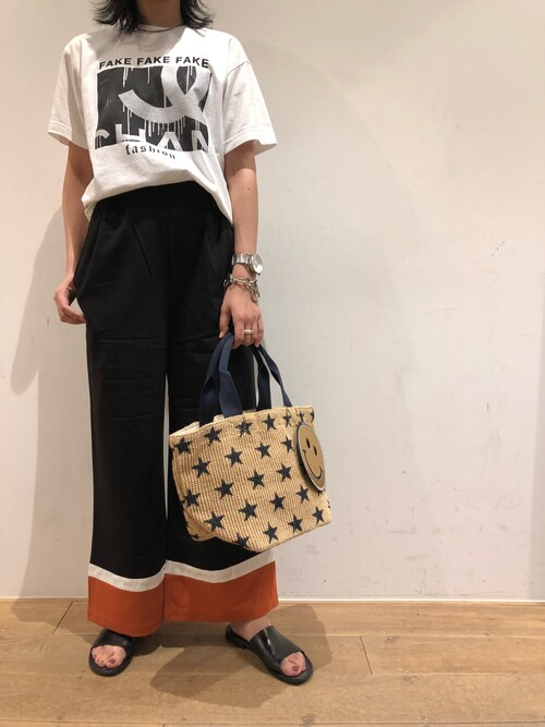 B'2nd 名古屋B'2nd 名古屋PARCOさんのパンツ「DROIT BELLO(ドロイトベロ)ハイショクPT(DROIT BELLO|ドロイトベロ)」を使ったコーディネート