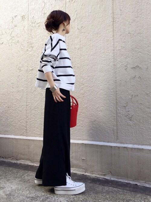ari☆さんのパンツ「【vikka 4月号掲載】スソベンツ パンツ◆(Spick & Span|スピックアンドスパン)」を使ったコーディネート