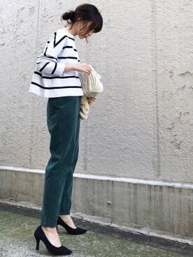 ari☆さんの「コーデュロイパンツ◆(Spick & Span|スピック&スパン)」を使ったコーディネート