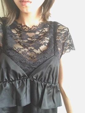 9dd0eaa1a9877 ZARA(ザラ)のTシャツ・カットソーを使った「結婚式二次会スタイル」の ...