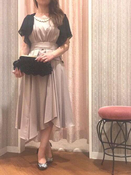 結婚式 服装 受付
