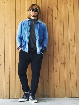 7ce85f61a77 BALENCIAGA(バレンシアガ)のTシャツ・カットソー(グレー系)を使ったコーディネート一覧(身長:181cm~190cm) - WEAR