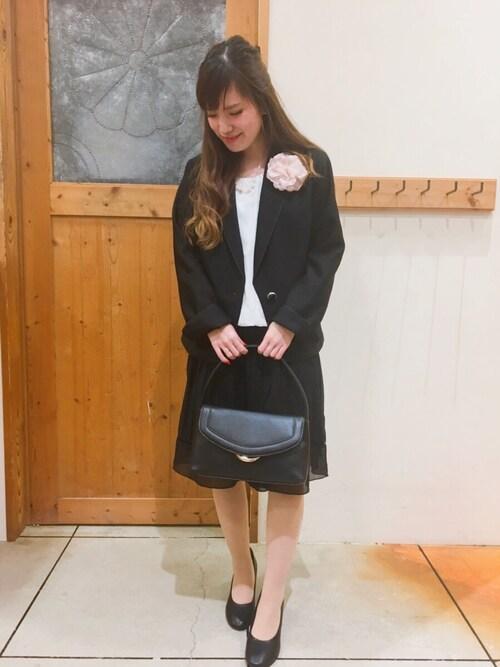 卒業式 ママコーデ