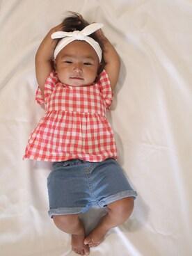 1ac4e6741efde シャツ・ブラウスを使った「赤ちゃんコーデ」のコーディネート一覧(地域:アメリカ) - WEAR