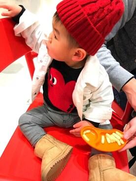 e9e9a56dc5ba2 「赤ニット帽」のキッズコーディネート一覧 - WEAR