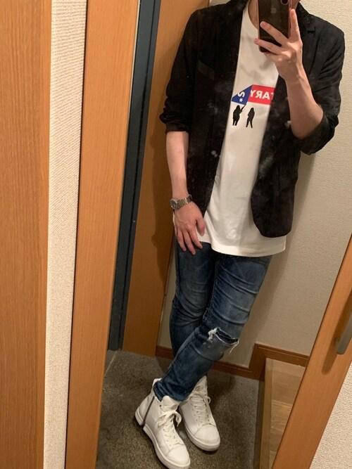 takeshiさんの「メンズ ジャケット(DIESEL)」を使ったコーディネート