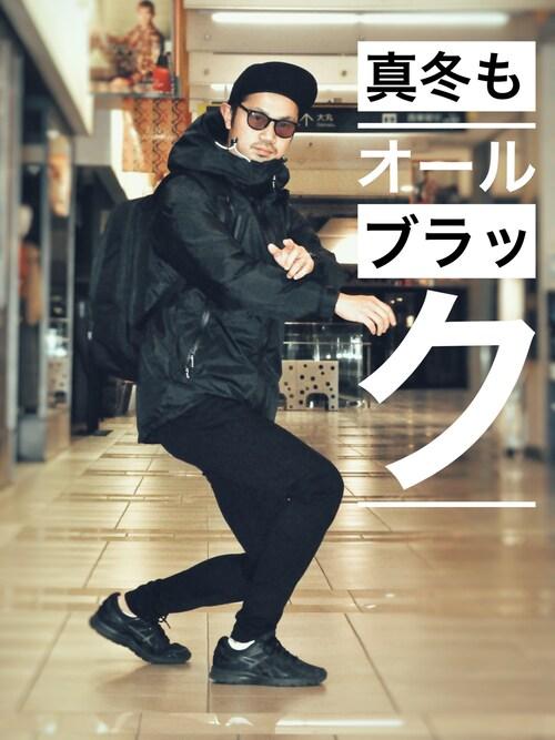 URBAN RESEARCHKakeruMayama(真山走)さんの「(|)」を使ったコーディネート