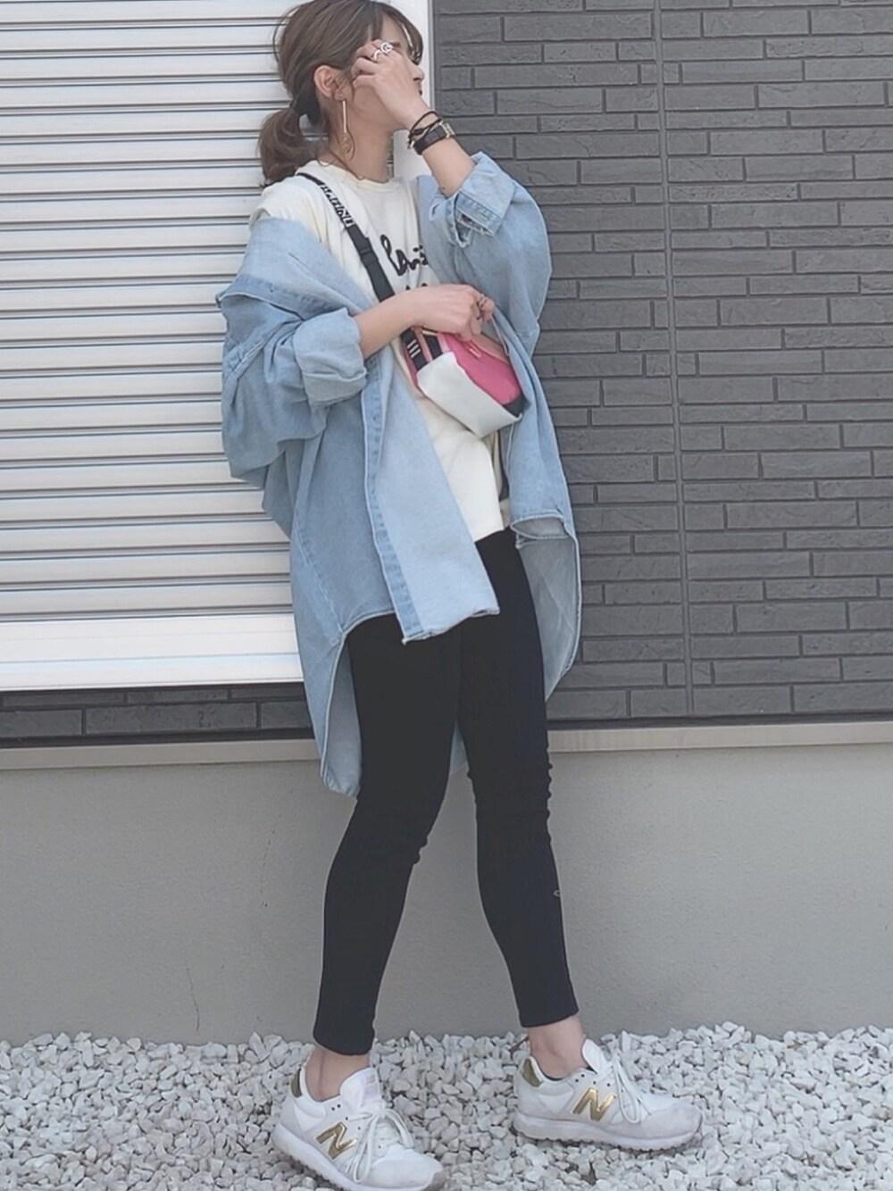 BBQ コーデ 春 アウトドア ファッション おしゃれ 母親 30代