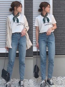 f017bef0463c7 yunさんのTシャツ カットソー「beautiful people BP×NUKEMEエンブロイダリー