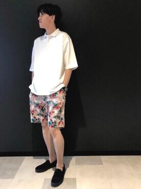 73d5963bfa0be3 ポロシャツを使った「ベージュコーデ」のコーディネート一覧 - WEAR