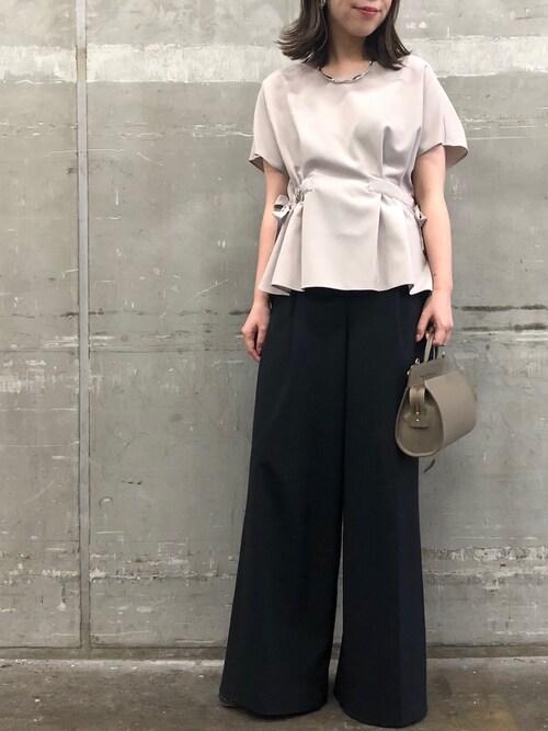 マタニティ パンツドレス