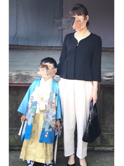 七五三 母親 服装
