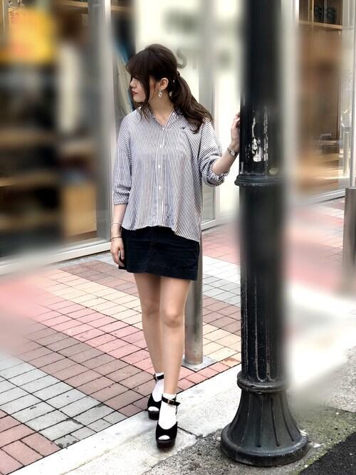 AVIREX 熊本erizumeさんのシャツ/ブラウス「AVIREX/ アヴィレックス/ ボイルシャツ(AVIREX|アヴィレックス)」を使ったコーディネート