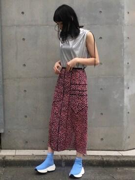 876b5a9375d2d MIDWEST TOKYO WOMEN IzuさんのTシャツ カットソー「JOHN LAWRENCE SULLIVAN スリーブ
