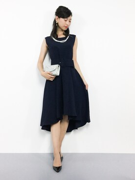 d4e9ecf2feedb ZOZOTOWN|KIIさんのドレス「 結婚式・お呼ばれ対応ワンピースドレス
