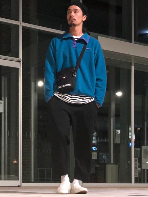 Genki Nakamuraさんのショルダーバッグ「【DICKIES/ディッキーズ】WORTH MINI SHOULDER/ディッキーズ ミニショルダー(Dickies|ディッキーズ)」を使ったコーディネート