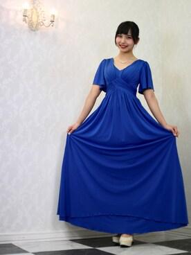 c377dd332ed05 ドレスを使った「青」のコーディネート一覧 - WEAR