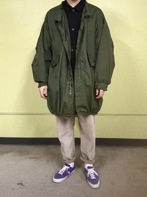 "りんすろー is wearing Converse ""Converse One Star Suede Sneaker"""