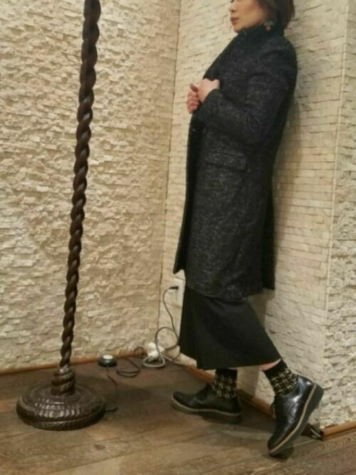 enchanted有楽町丸井enchanted staffさんのドレスシューズ「本革ウイングチップレースアップシューズ(enchanted|エンチャンテッド)」を使ったコーディネート