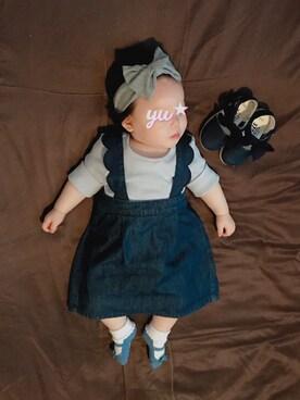 be1d7c17b7333 デニムスカートを使った「ベビーコーデ」のコーディネート一覧 - WEAR