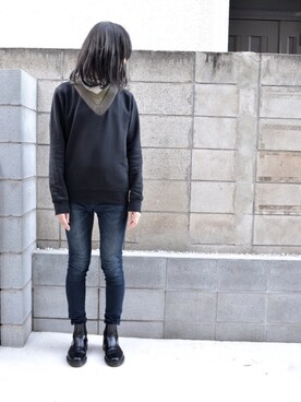 "mao is wearing Dr.Martens ""【Dr.Martens】2976 CHELSEA BOOT"""