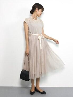 cfca1877fef36 ドレスを使った「チェーンバッグ」のレディースコーディネート一覧(ユーザー:ショップスタッフ) - WEAR