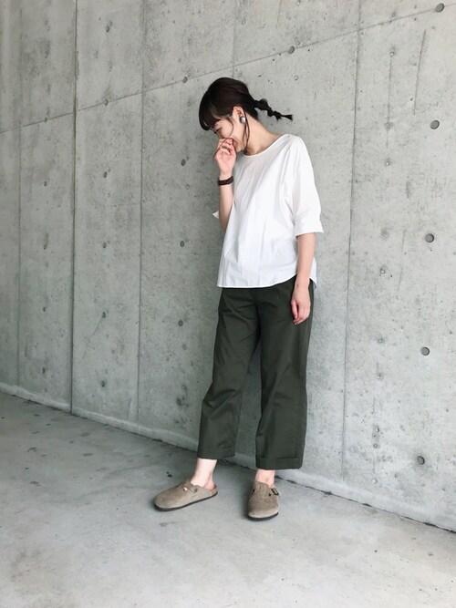 yukoさんのソックス/靴下「TABIO LEG LABO/ カテキンしっとり絹のつま先五本指ソックス 24〜26�p(靴下屋|クツシタヤ)」を使ったコーディネート