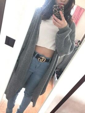 87365c5f2094c ayanoさんの「Gucci - ダブルg ベルト - women - レザー metal -
