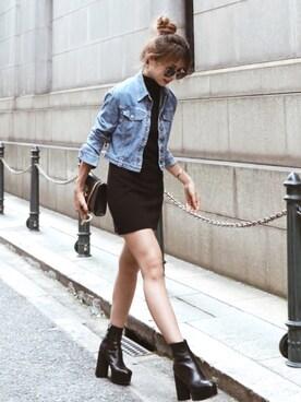 buy online d3b41 df7b2 Christian Dior(クリスチャンディオール)のデニムジャケットを ...