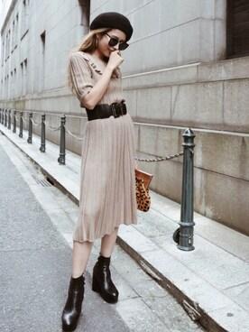buy popular 6f5e9 dbaaf Christian Dior(クリスチャンディオール)のワンピースを使った ...