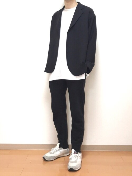 たにきさんの「UNITED ARROWS & SONS by DAISUKE OBANA PE BUTTONLES JACKET 19SS†(UNITED ARROWS & SONS)」を使ったコーディネート