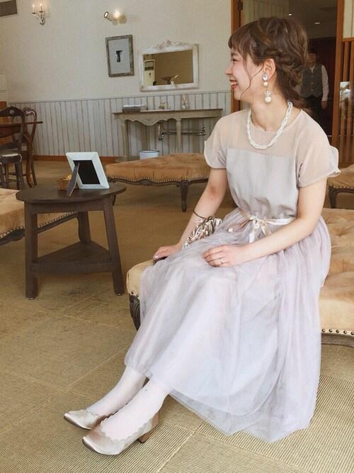 結婚式服装春