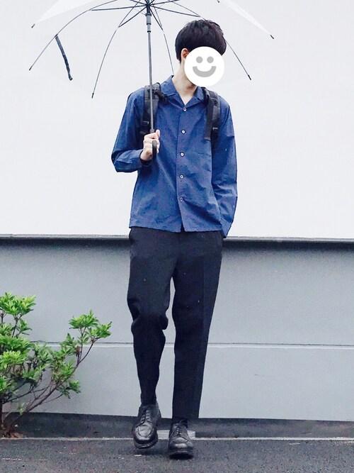 kitsuneさんの「<Steven Alan> AZUMA TYPE WRITER OPEN/シャツ(Steven Alan)」を使ったコーディネート