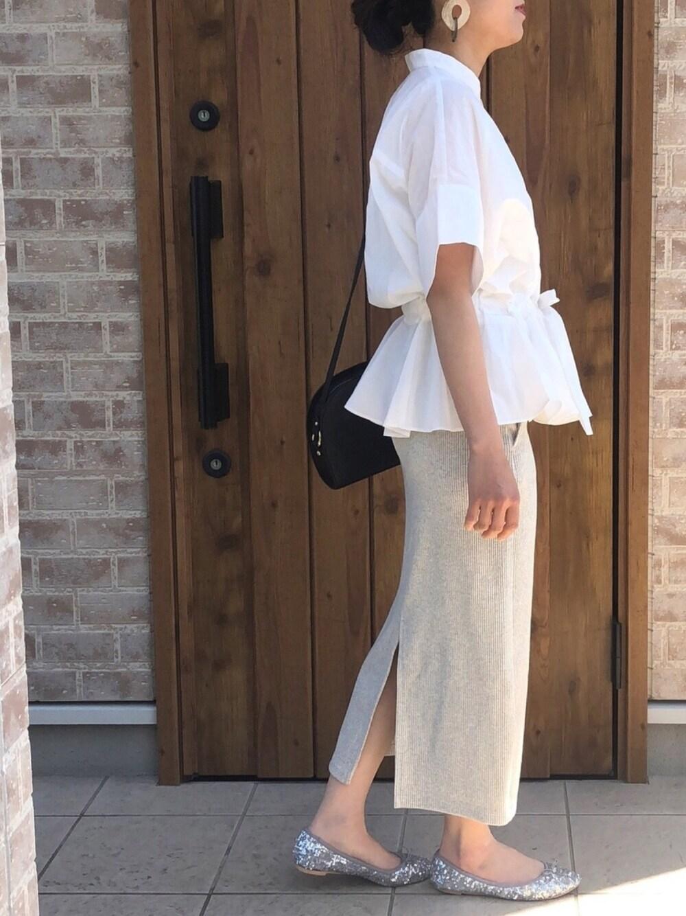 爽やか ファッション ママコーデ 30代 おしゃれ シャツ