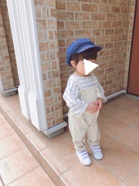 5d9f273fea67c キャスケットを使った「韓国子供服」のキッズコーディネート一覧 - WEAR