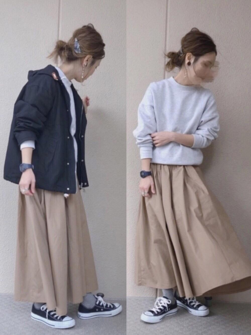 マタニティコーデ 30代 通販 CHOCOA スカート 可愛い