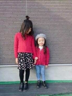 db1b235874271 skhanaさんの「コットン ペプラム カーディガン(Polo Ralph Lauren Childrenswear|ポロ キッズ)