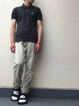 2b2146ffdba2 crocodile(クロコダイル)のポロシャツを使ったメンズコーディネート一覧 - WEAR
