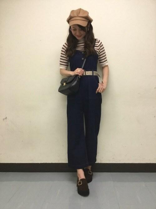 Heather 横浜ジョイナスHeather横浜ジョイナス店 STAFF2さんのキャスケット「アソート6ハギキャスケット 808608(Heather|ヘザー)」を使ったコーディネート