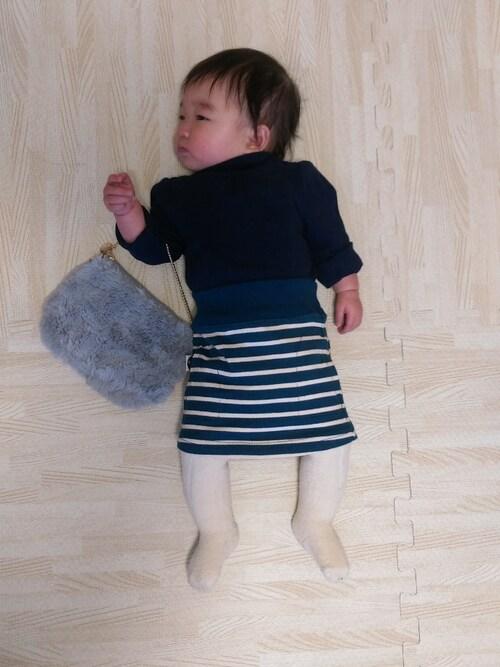 いっちゃんさんのスカート「ボーダータイトスカート(RUGGEDWORKS|ラゲッドワークス)」を使ったコーディネート