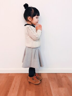 Summer&Winter is wearing ZARA KIDS