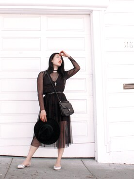 Teresa Lai is wearing ZARA WOMAN