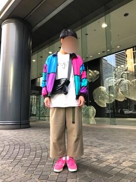 8b1e81f23c8e Hさんの(Nuggets|ナゲッツ)を使ったコーディネート. 2018.12 15. adidas(アディダス)の「adidas アディダス  CAMPUS ...