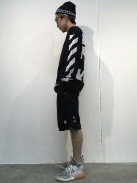 MIDWEST TOKYO MEN|MIDWEST江口貴康さんの(off white)を使ったコーディネート