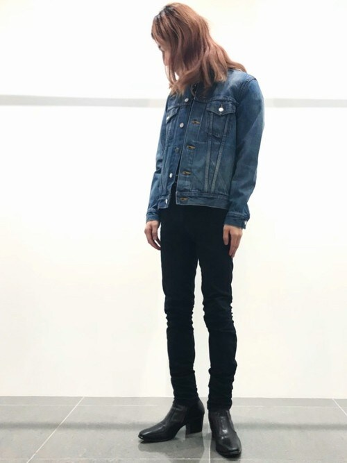 LITHIUM原宿本店さんの「SIDE-ZIP HEEL BOOTS(LITHIUM HOMME)」を使ったコーディネート