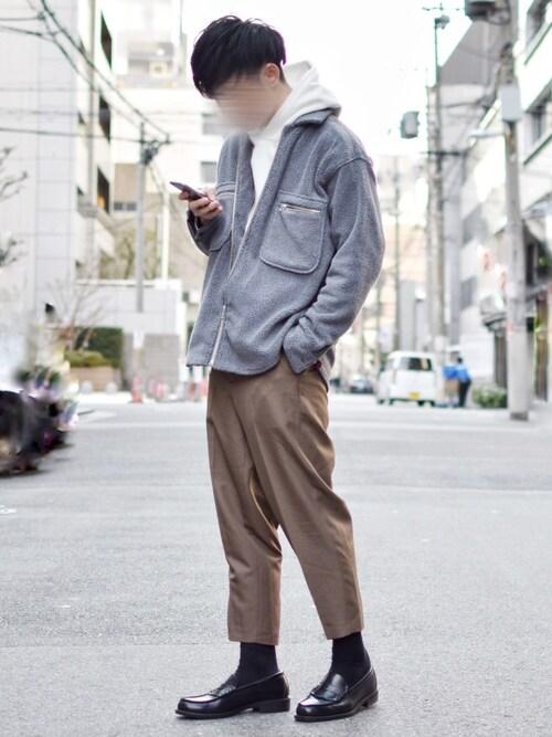ゆうげんさんの「スウェットプルパーカ(長袖)(ユニクロ)」を使ったコーディネート